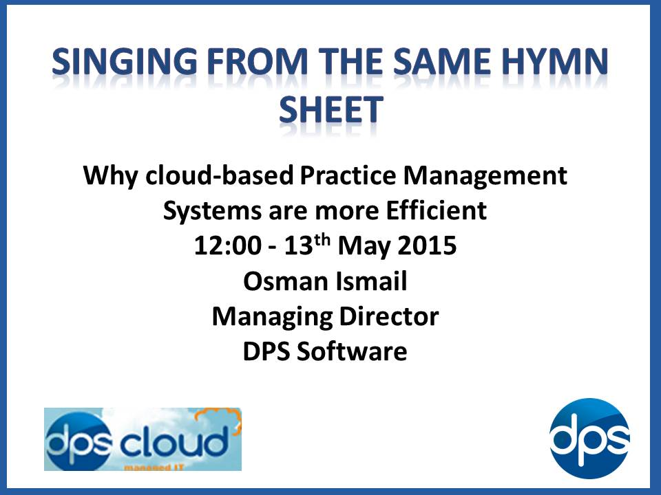 Practice management software-DPS